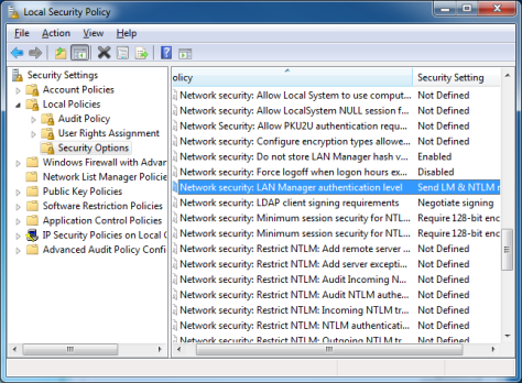 Enable Network Drive in Windows 7