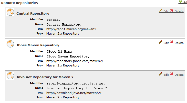 Maven – Setup mirror to Archiva Repository Manager | Eureka!