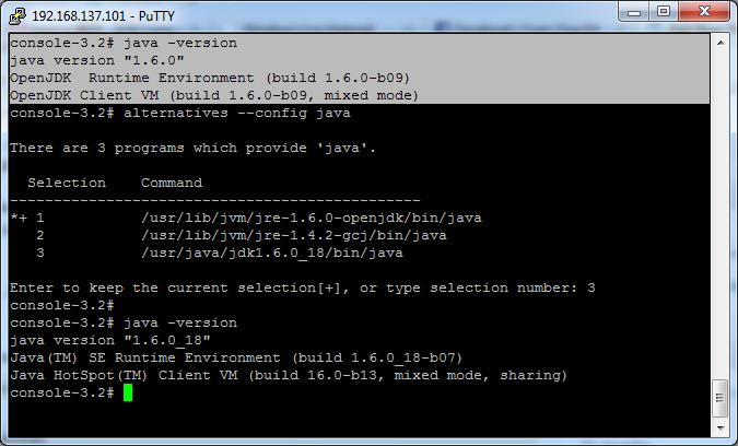 CentOS - Install Java Sun JDK (4/4)