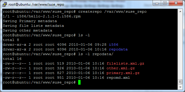 openSUSE – Create your own Software Repository @ 1 | Eureka!