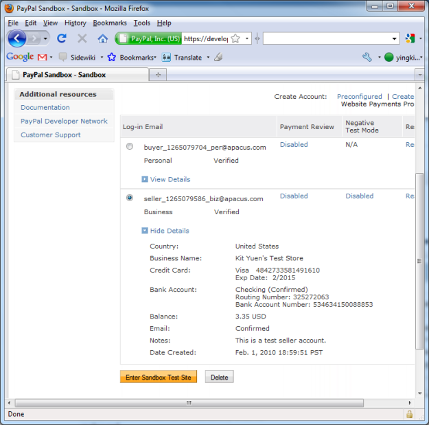 PayPal Sandbox – Testing Your Paypal Buy Now Button | Eureka!