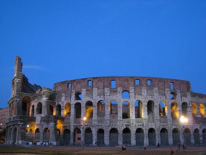 旁晚的 Colosseo @ 1