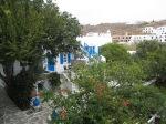 整個 Mykonos 都係白與藍