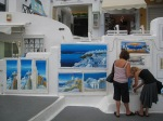 Santorini 人畫的 Santorini