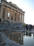 有倒影的 Parthenon