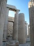 屹立不倒的大理石柱
