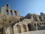 Odeon of Herodes Atticus 的外圍