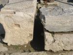 Theatre of Dionysus 刻有字的石塊