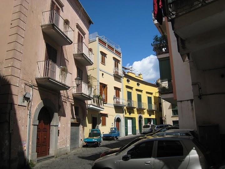 酒店附近的小街