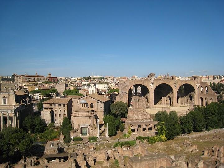 下面就係 Forum Romanum
