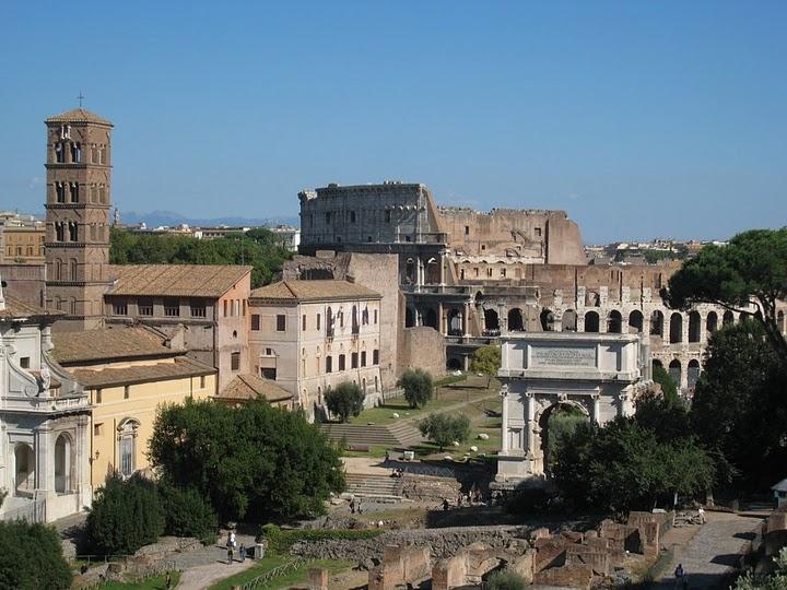 好似回到2000年前的羅馬帝國