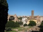 左面拱型建築係 Basilica of Maxentius