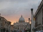夕陽的 Vatican @ 1