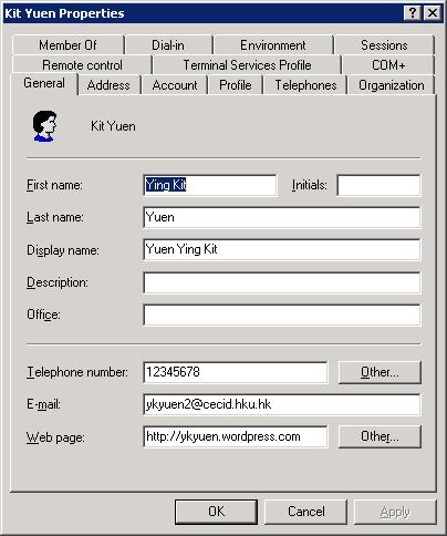 Java – Connect Windows Active Directory Through LDAP @ 1