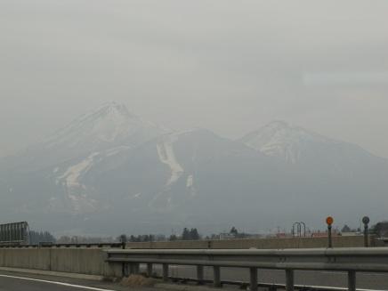 遠方的雪山
