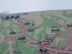 在三春町的一個停車場找到的地圖