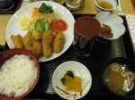 吉列牡蠣定食
