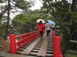 五大堂外的木橋