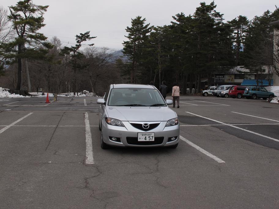 此次日本遊的愛駒(攝於五色沼附近的停車場)
