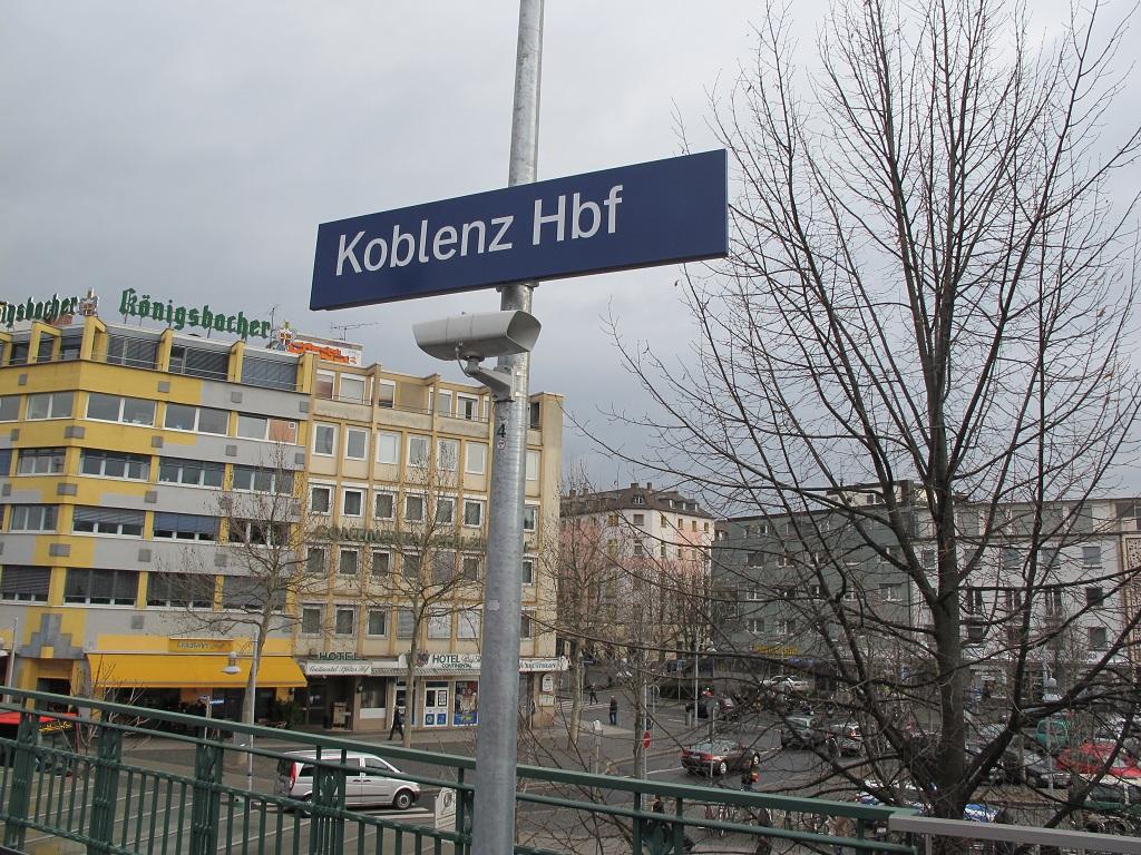 在Koblenz轉車