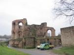 建於四世紀的凱撒浴場 Kaiserthermen