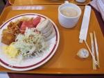 Hotel Green Selec的自助早餐