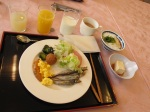 旅館的自助早餐