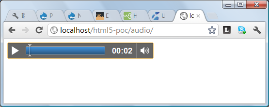 HTML5 – Play sound/music with <audio> tag @ 1 | Eureka!