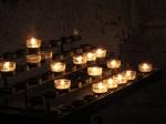 教堂內的小蠟燭