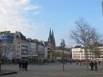 Heumarkt可遠眺大教堂與Ratsturm