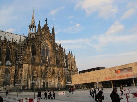 回到Cologne Cathedral