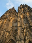 夕陽下的Cologne Cathedral @ 4
