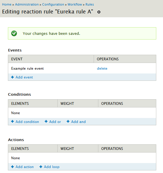 Drupal 7 – Create your own Rules event | Eureka!