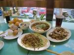 護國寺小吃店的晚餐