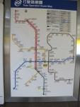 每次旅行經常都要拍的地鐵路線圖