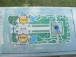 中正紀念堂園區的平面圖