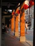 夕陽下的老街