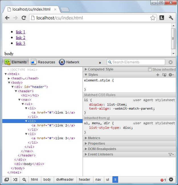 HTML – Include  html using jQuery   Eureka!