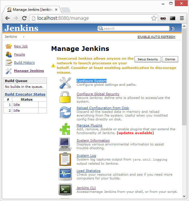 Jenkins – Setup a simple Ant build project | Eureka!