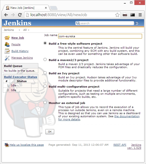 Jenkins - Setup a simple Ant build project (4/6)