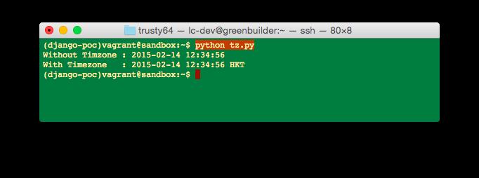 Python – Specify datetime timezone using pytz   Eureka!